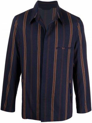 Легкая куртка в полоску PAUL SMITH. Цвет: синий