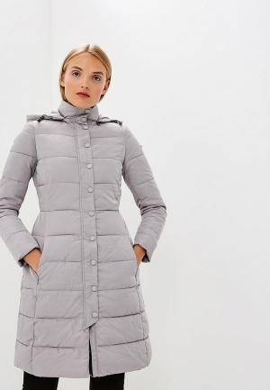 Куртка утепленная Emporio Armani. Цвет: серый