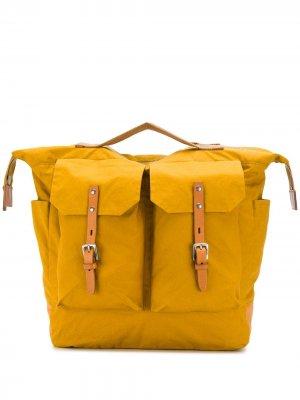 Рюкзак Frank Ally Capellino. Цвет: желтый