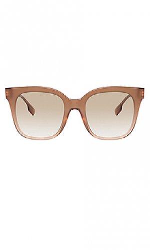 Солнцезащитные очки b. monogram charlotte Burberry. Цвет: беж