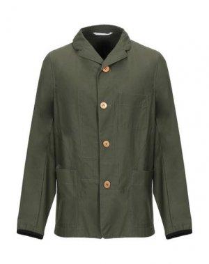 Пиджак ESEMPLARE. Цвет: зеленый-милитари