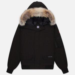 Мужская куртка бомбер Chilliwack Canada Goose. Цвет: чёрный