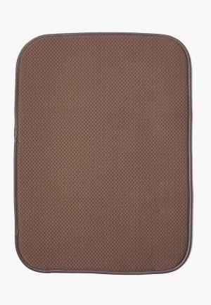 Салфетка сервировочная DeNastia Коврик для сушки посуды DeНАСТИЯ, 38*51 см. Цвет: коричневый
