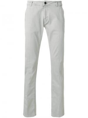 Классические брюки-чинос Pt05. Цвет: серый