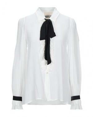 Pубашка ANIYE BY. Цвет: белый