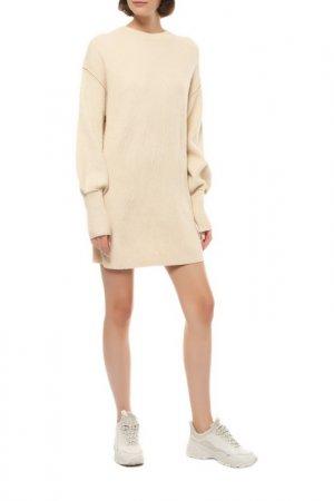 Платье-свитер Billabong. Цвет: бежевый