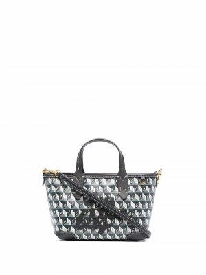Мини-сумка I Am A Plastic Bag Anya Hindmarch. Цвет: серый