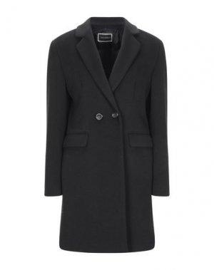 Пальто ANIMAGEMELLA. Цвет: черный