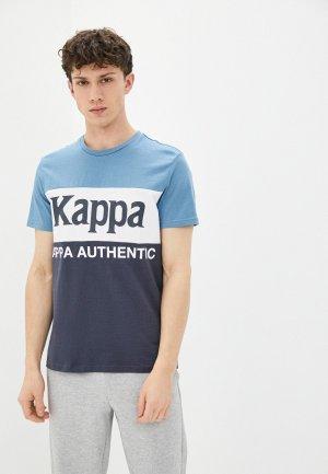 Футболка Kappa. Цвет: разноцветный