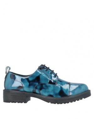 Обувь на шнурках APEPAZZA. Цвет: пастельно-синий