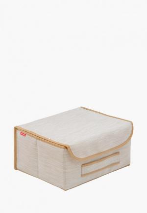 Короб для хранения Casy Home. Цвет: белый
