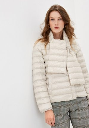 Куртка утепленная Weekend Max Mara BEIRUT. Цвет: бежевый