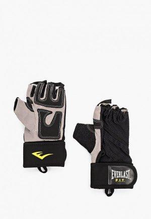 Перчатки для фитнеса Everlast FIT Weightlifting. Цвет: черный