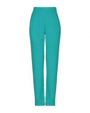 Повседневные брюки H2O ITALIA. Цвет: изумрудно-зеленый