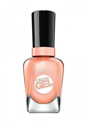 Гель-лак для ногтей Sally Hansen Miracle Gel, 374 Sweet Tea, 14 мл. Цвет: коралловый