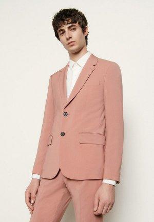 Пиджак Sandro. Цвет: розовый