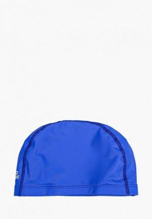 Шапочка для плавания MadWave PUT Coated. Цвет: синий