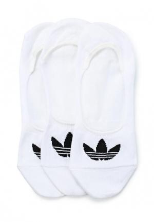 Комплект adidas Originals NO SHOW SOCK 3P. Цвет: белый