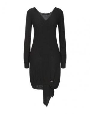Короткое платье G.SEL. Цвет: черный