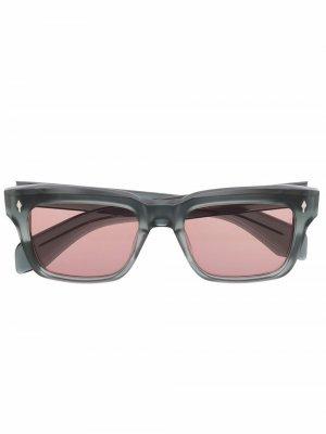 Солнцезащитные очки Torino Jacques Marie Mage. Цвет: серый