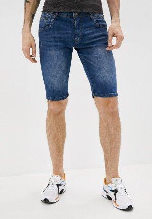 Шорты джинсовые Avirex. Цвет: синий