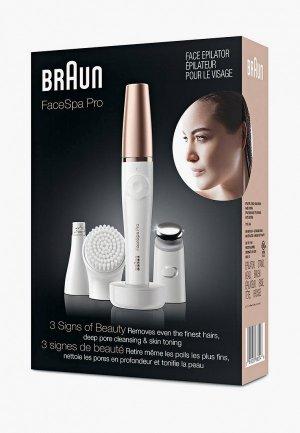 Эпилятор Braun FaceSpa Pro 911. Цвет: белый