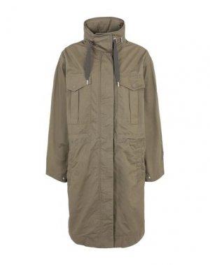 Легкое пальто TOMMY JEANS. Цвет: зеленый-милитари