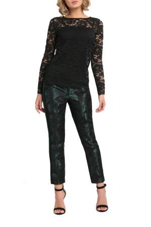 Кружевная блузка Apart. Цвет: черный