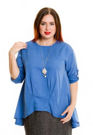 Туника Luxury Plus. Цвет: голубой