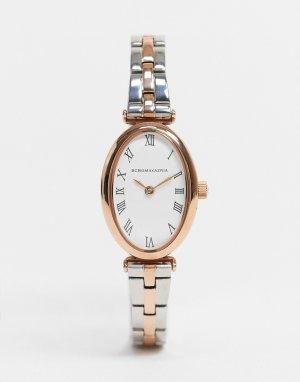 Тонкие часы-браслет BCBG Max Azria-Серебристый MaxAzria