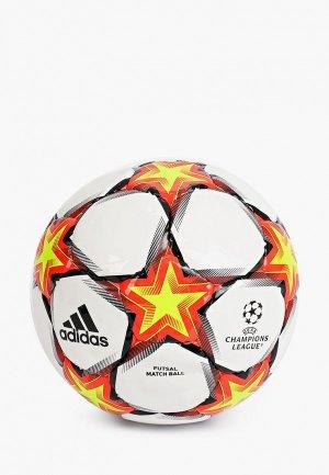 Мяч футбольный adidas FIN21 PRO SAL. Цвет: белый