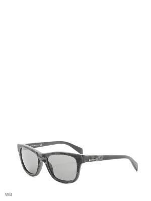 Солнцезащитные очки DL 0111 20A Diesel. Цвет: серый, черный