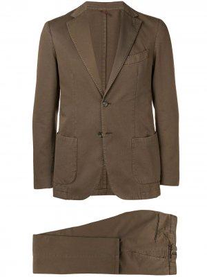 Delloglio костюм-двойка Dell'oglio. Цвет: коричневый