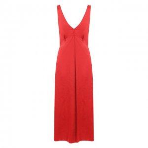 Платье-миди Forte_forte. Цвет: красный