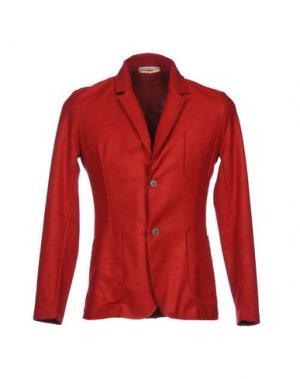 Пиджак BL.11 BLOCK ELEVEN. Цвет: красный