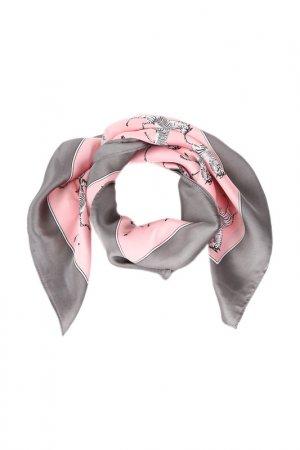 Платок Fiona Fantozzi. Цвет: розовый