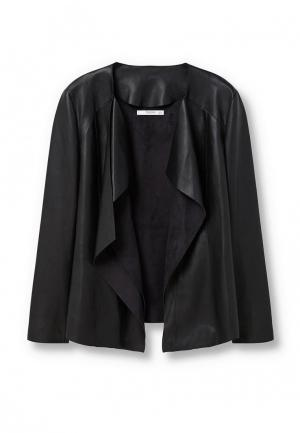 Куртка Mango - WAVE. Цвет: черный