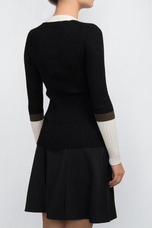 Шерстяной пуловер Hugo Boss