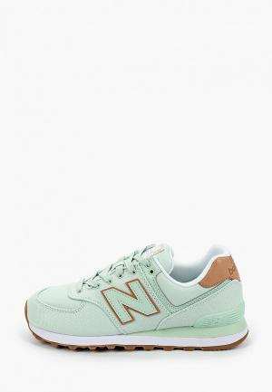 Кроссовки New Balance 574. Цвет: бирюзовый