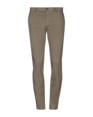 Повседневные брюки HENRY COTTON'S. Цвет: зеленый-милитари