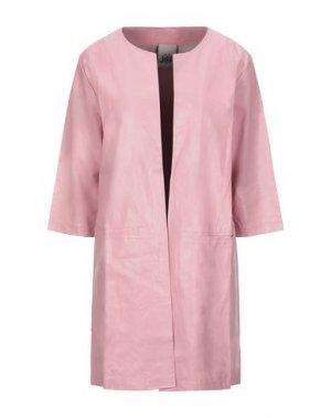Легкое пальто JIJIL. Цвет: розовый