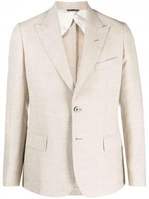 Однобортный пиджак Reveres 1949. Цвет: нейтральные цвета