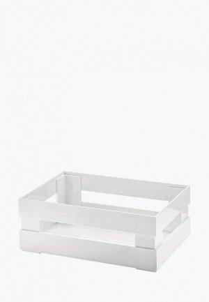 Ящик для хранения Guzzini Tidy & Store S 15,3x11,2x7 см. Цвет: серый