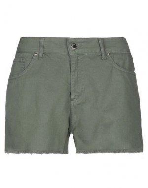 Повседневные шорты FLY GIRL. Цвет: зеленый-милитари