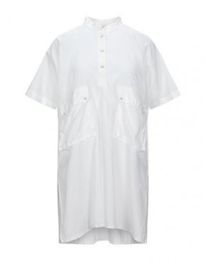 Короткое платье HACHE. Цвет: белый