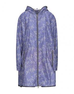 Легкое пальто DUVETICA. Цвет: светло-фиолетовый