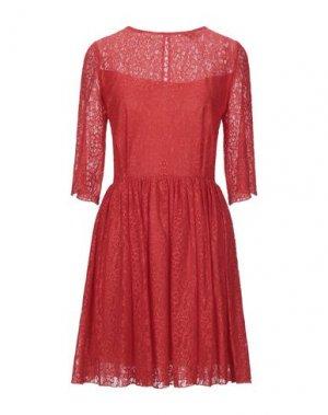 Короткое платье DENNY ROSE. Цвет: красный