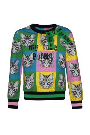 Пуловер STEFANIA. Цвет: разноцветный