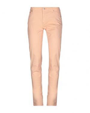 Повседневные брюки PT Torino. Цвет: лососево-розовый