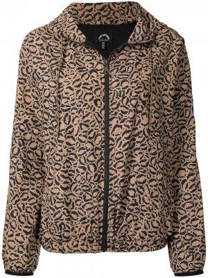 Анорак Lila с леопардовым принтом The Upside. Цвет: коричневый